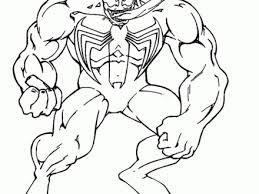37 Spiderman Vs Venom Coloring Pages Free Printable Venom Coloring