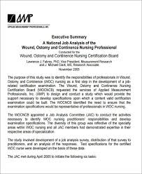 sample job analysis report examples in pdf word executive summary job analysis report