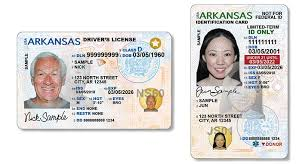 Unveils Flyer Driver's Fayetteville Cards Licenses Arkansas Id And New State