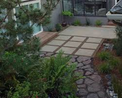 Cool Stained Concrete Patio look San Francisco Modern Landscape