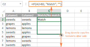 compare two excel sheets for differences 2010 excel compare two columns for matches and differences