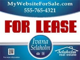 for lease sign template custom real estate panels independent realtors