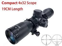 Hauska 4x32 <b>Airsoft Airgun</b> Rifle Scope .223 .308 <b>Tactical</b> Compact ...
