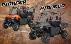 2018 honda side by side. brilliant side 2018 honda pioneer 1000 700 500 model lineup review  specs u0026 changes for honda side by 1