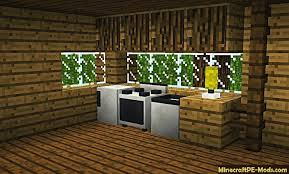 How To Make Kitchen Cabinets In Minecraft Pe building1stcom