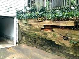 building a wooden retaining wall retaining wall wooden wooden retaining wall wood retaining wall woodworking plans