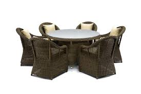 round outdoor dining sets. Brilliant Dining Ansan Outdoor Furniture Saba Round Wicker Dining Set On Sets E