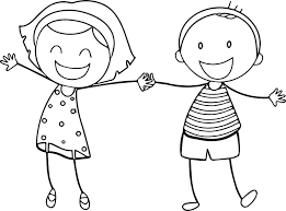 Downloads Boy And Girl Coloring Page 65 On Line Drawings With Boy
