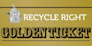Prize Draw Tickets Win A Cash Prize In The Golden Ticket Recycling Draw