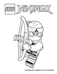 Coloring Page Ninja Zane Summer Camp Lego Coloring Pages Lego