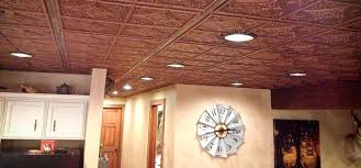 made famous in the pubs of yore tin tile ceilings are hardly a new idea the material is intricately worked yet very thin making it easier to add