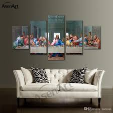 2018 large framed canvas art christian the last supper jesus canvas print painting living room bedroom home decoration dropshipping from asenart  on large last supper wall art with 2018 large framed canvas art christian the last supper jesus canvas