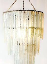 recycled glass chandeliers purity 3 tier pendant chandelier recycled glass emery recycled glass lighting