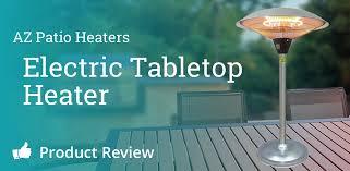 az patio heaters electric tabletop