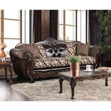 striped sofas living room furniture. Furniture Of America Robertson Traditional Light Brown Sofa Striped Sofas Living Room