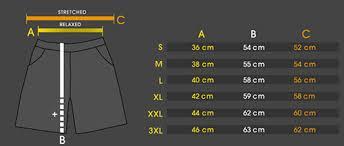 Amstaff Size Chart Amstaff Shorts Condur Black