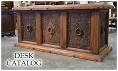 custom spanish style furniture. Rustic Office Furniture Spanish Style Pine Desk Custom Wood E