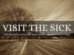 visit the sick corporal works of mercy holy year of mercy works of mercy visit the sick comfort the