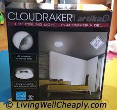artika cloudraker led ceiling light