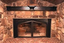 custom made custom fireplace screens
