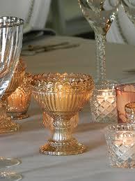 amber gold glass bowl