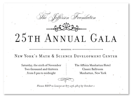 Formal Business Invitation Wording Formal Gala Invitations On Seeded Paper Very Vip By Green