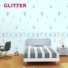Kinderen Slaapkamer Behang 3d Cartoon Kleur Star Jongens En Meisjes