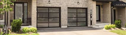 if a contemporary style is what you want precision door los angeles s full view aluminum garage doors are a perfect fit for your home s clean modern look