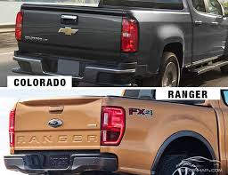 ford ranger vs chevrolet colorado ai