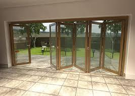 folding external doors