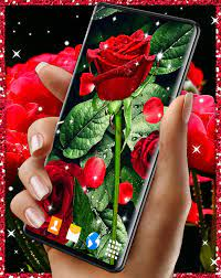 3D Red Rose Live Wallpaper for Android ...