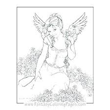 Angel Coloring Pages For Adults Download Free Jokingartcom Angel