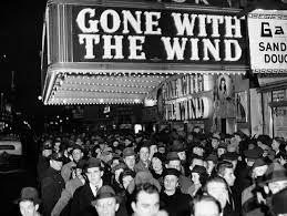 "Image result for The first movie show of ""gone with wind"""