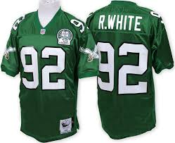 1992 com Sports amp; Reggie White Nfl Ness Amazon Eagles Jersey Authentic Mitchell Green Outdoors Philadelphia