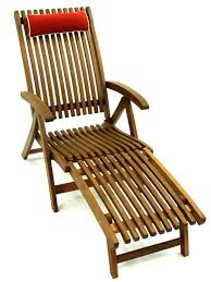 Folding Chaise Lounge Chairs Outdoor Eucalyptus Chaise Lounge With