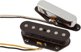fender original vintage tele pickups set of 2 fender pickups fender original vintage tele® pickups nickel