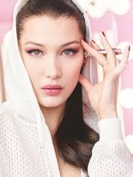 bella hadid dior makeup photoshoots 2018