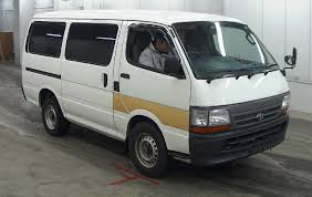 Japanese Used TOYOTA HIACE VAN DX B PACKAGE 2WD☆ENGINE 1RZ☆MANUAL ...