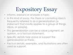 types of essays 13 expository essay