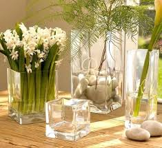 Square Vase Wedding Centerpiece Ideas Cylinder Glass. Tall Glass Vase  Centerpiece Ideas Decoration For Parties Baby Shower. Square Glass Vase  Centerpiece ...