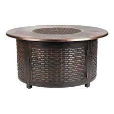 outdoor propane fire pit round aluminum propane fire pit table in outdoor fire pits canada outdoor