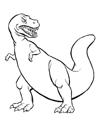 Small Picture Dinosaur Coloring Pages 4 Coloring Kids