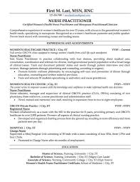 Family Nurse Practitioner Resume Nurse Practitioner Resume Sample Professional Resume Examples 2