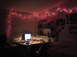 How to Light Your Dorm Room with Christmas Lights and Paper .