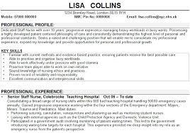 Good Skills For A Cv Nursing Cv Example1 Gif Vereador Jamerson