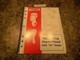 2005 suzuki k5 models marine wiring diagram manual 99954 54005 ebay 2005 Suzuki Outboard Wiring Diagram image is loading 2005 suzuki k5 models marine wiring diagram manual Suzuki DT55 Outboard Wiring Diagrams