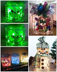 glass block craft ideas
