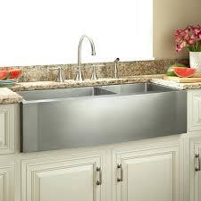 stainless steel farmhouse kitchen sink offset double bowl stainless steel farmhouse sink kraus 33 inch farmhouse