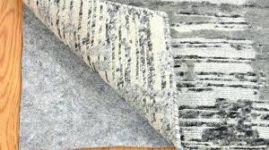 natural rug pad urgent natural rubber and felt rug pad 8 x pads for hardwood floors
