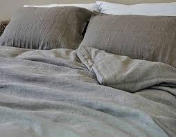 interior com dark linen duvet cover handmade in medium weight quoet king 1